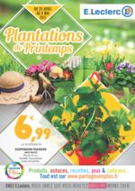 Prospectus E.Leclerc : Plantations de Printemps