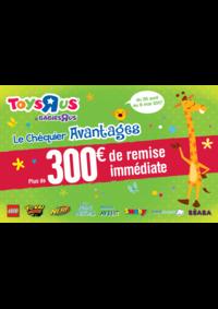 Promos et remises Toys R Us AULNAY SOUS BOIS : Plus de 300€ de remise immédiate