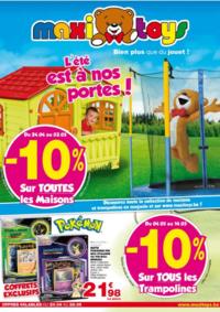 Prospectus Maxi Toys Mons : L'été est à nos portes !
