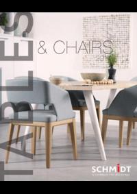 Catalogues et collections Cuisines Schmidt PARIS : Tables & Chairs 2017