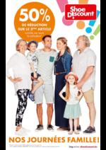 Prospectus Shoe Discount : Nos journées famille !