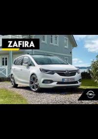 Catálogos e Coleções Opel Vila Franca De Xira : Catálogo Opel Zafira
