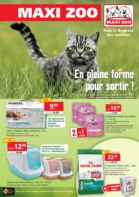Prospectus Maxi zoo Montigny-lès-Cormeilles : En pleine forme pour sortir !