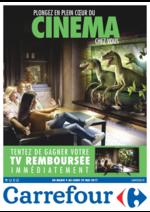 Prospectus Carrefour : Plongez en plein cœur du cinéma chez vous