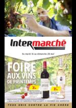 Prospectus  : Foire aux vins de Printemps