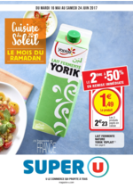 Prospectus Super U : Cuisine du Soleil le mois du ramadan