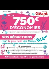 Prospectus Géant Casino Amiens Glisy : + de 750€ d'économies