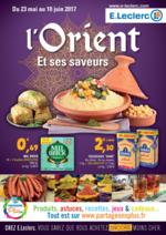 Prospectus E.Leclerc : L'Orient et ses saveurs