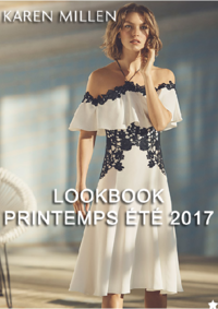 Catalogues et collections Karen Millen - Velizy : Lookbook printemps été 2017