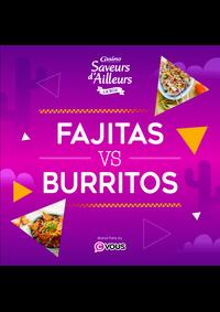 Prospectus Supermarchés Casino DEUIL LA BARRE : Fajitas VS Burritos