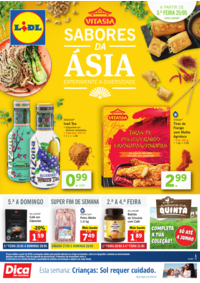 Folhetos Lidl Arrifana : Sabores da Ásia