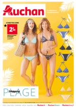 Prospectus Auchan : Shopping plage