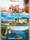 Catalogue Résidences, hôtels, camping printemps été 2017