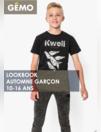 Lookbook automne Garçon 10-16 ans