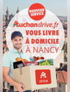 Auchan drive.fr vous livre à domicile à Nancy