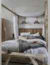Construire un lit à baldaquin en bois