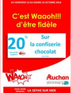 Remises Waaoh du 10 au 16 octobre