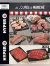 Les jours de marché foire à la viande