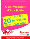 remises Waaoh 14 au 20 nov