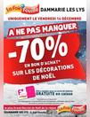 -70 % Bon d'achat Noël
