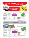 Nouveaux tarifs de livraison à domicile !