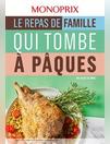 Le repas de famille qui tombe à Pâques