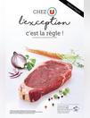CHEZ U L'EXCEPTION C'EST LA RÈGLE !