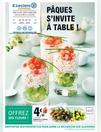 PÂQUES S?INVITE À TABLE !