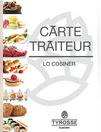 Carte traiteur
