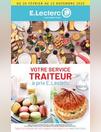 VOTRE SERVICE TRAITEUR à prix E.Leclerc