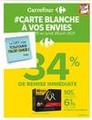 # CARTE BLANCHE A VOS ENVIES