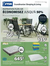 Publicités et catalogues JYSK