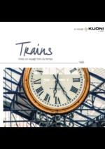 Catalogues et collections  : Circuits en Trains 2017
