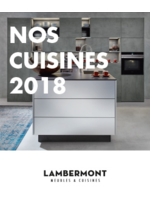 Catalogues et collections  : Nos cuisines 2018