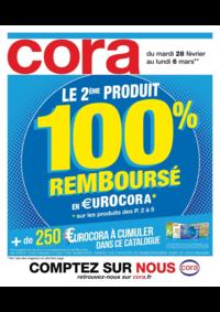 Prospectus Cora LIVRY-GARGAN : Le 2ème produit 100% remboursé en €urocora