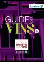 Prospectus E.Leclerc : Guide des vins 2017-2018