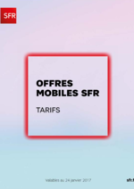 Catalogues et collections  : Offres mobiles SFR