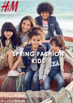 Catálogos e Coleções H&M : Lookbook Kids Spring Fashion