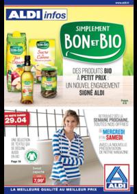 Prospectus Aldi Aulnay-sous-Bois : Simplement bon et bio