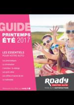 Prospectus Roady : Guide printemps été 2017