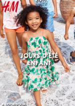 Catalogues et collections H&M : Lookbook enfant Jours d'été