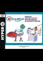Prospectus Hyper U : Guide de location