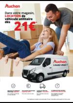 Prospectus  : Dans votre magasin, location de véhicule utilitaire dès 21€