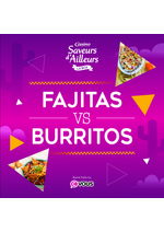 Promos et remises  : Fajitas VS Burritos