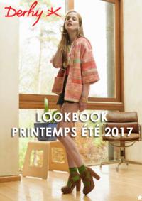 Catalogues et collections Derhy Usine Center Gonesse : Lookbook printemps été 2017