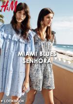 Catálogos e Coleções H&M : Lookbook Miami Blues - senhora