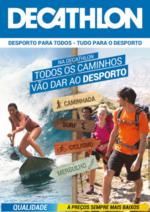 Folhetos DECATHLON : Todos os caminhos vão dar ao desporto