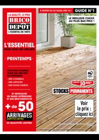 Prospectus Brico Dépôt CHARTRES - LUISANT : !le guide printemps