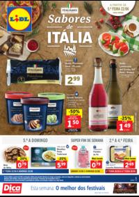 Folhetos Lidl Arruda Dos Vinhos : Sabores de Itália