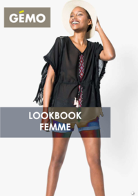 Catalogues et collections Gemo MONTESSON : Lookbook femme